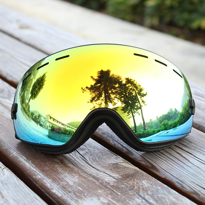 7f1368ea2fd 2019 Winter Snow Sports Snowboard Goggles Anti Fog Ski Glasses UV400 ...