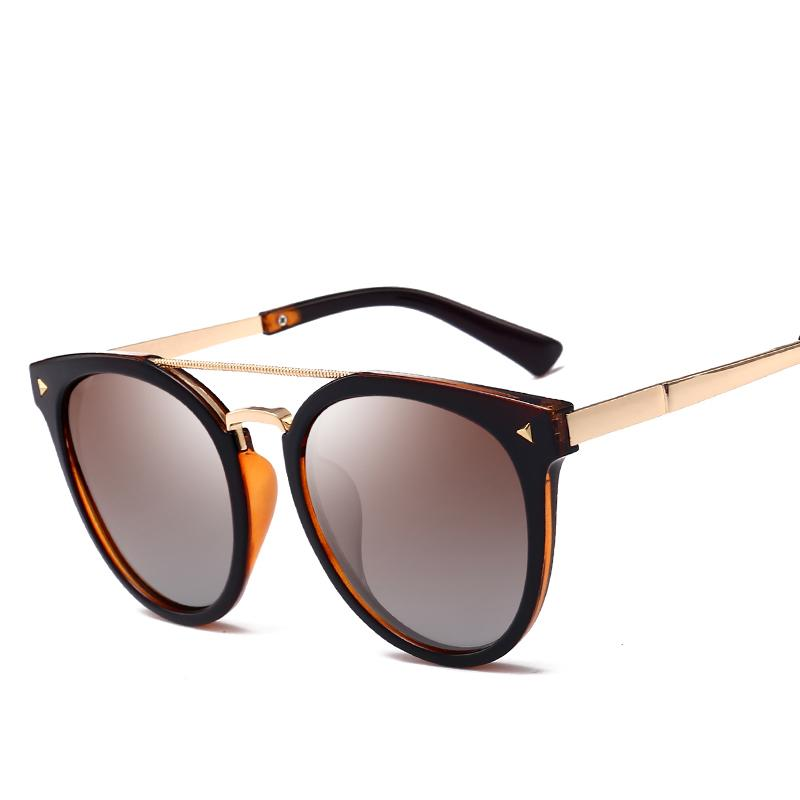 2ae450dbdc Compre Moda 2018 Gafas Vintage Gafas De Sol Polarizadas Mujeres Hombres  Mujeres Espejo Negro Gafas De Conducción Para Mujer De Verano Tonos A $24.5  Del ...