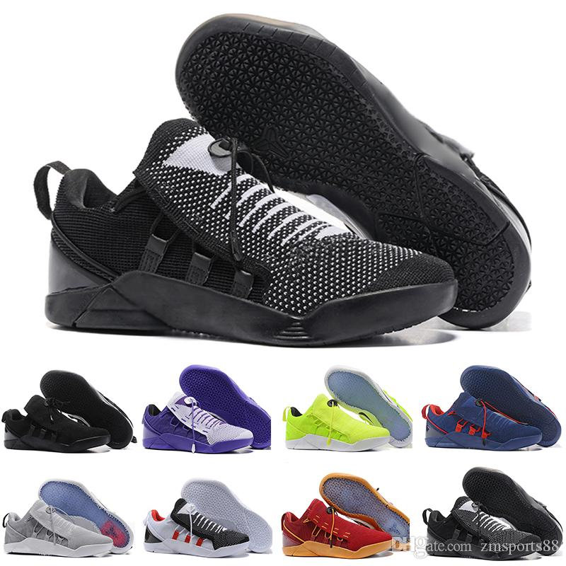 231fafaeca11 Cheap Sale Kobe 11 Low Casual Shoes Shoess For Top Quality Men KB 11s  Mentality 3 3M Black Wine Red Training Shoes 7 12 Comfort Shoes Sneakers  Online From ...