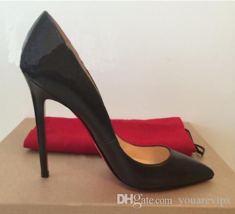 be0fe3c107c3 Brand Women Pumps Shoes Woman Red Bottom High Heels Pumps Stilettos ...