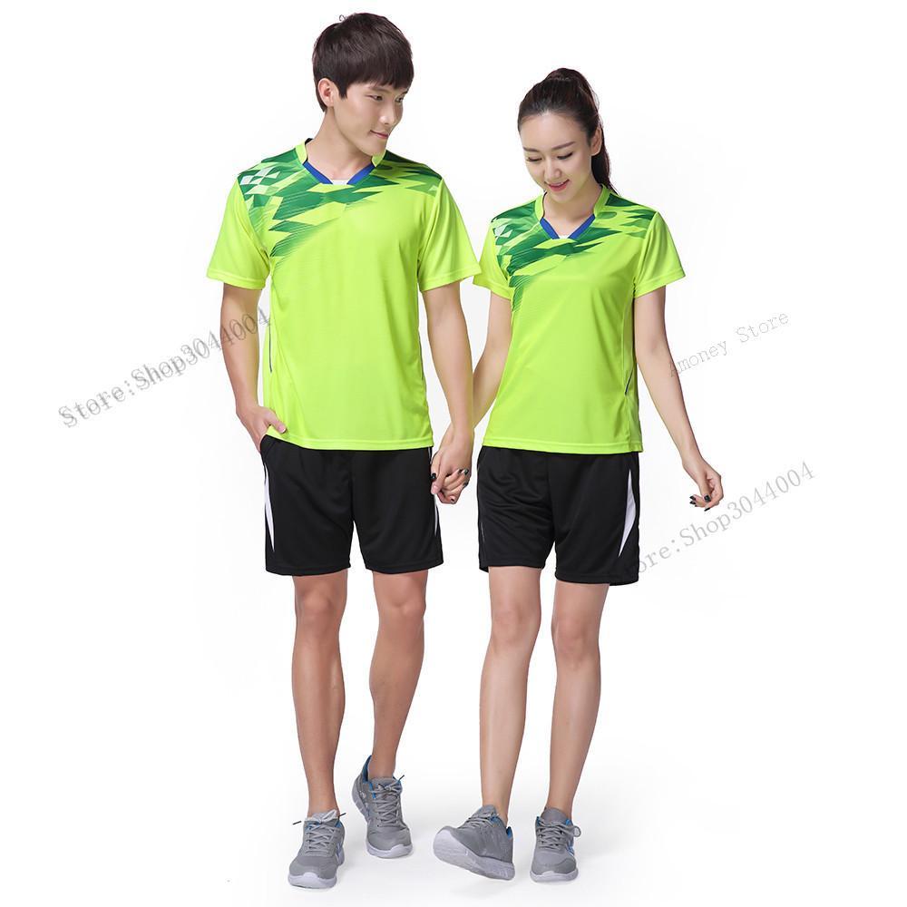 4ffd88645 Adsmoeny High Quality Quick Dry Badminton Shirt Breathable Badminton ...