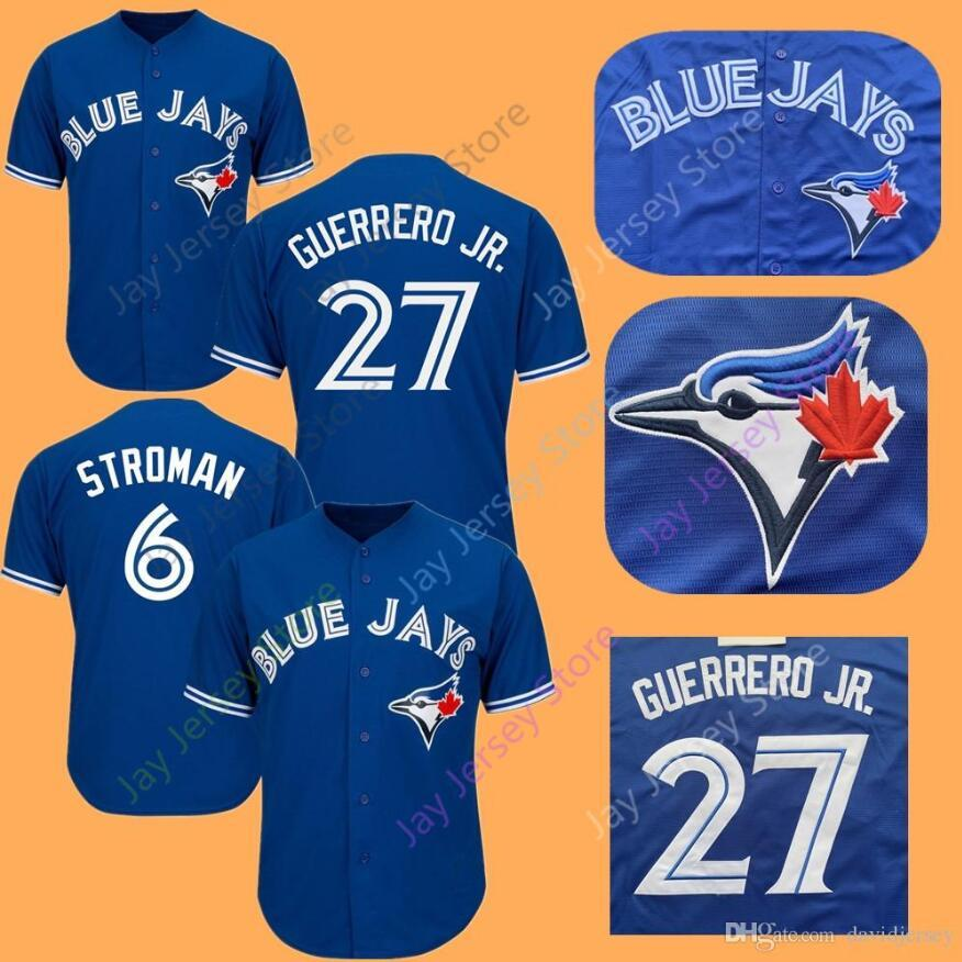 3882a8d5 2019 Cheap Blue Jays Jerseys 27 Vlad Vladimir Guerrero Jr. Jr Marcus ...