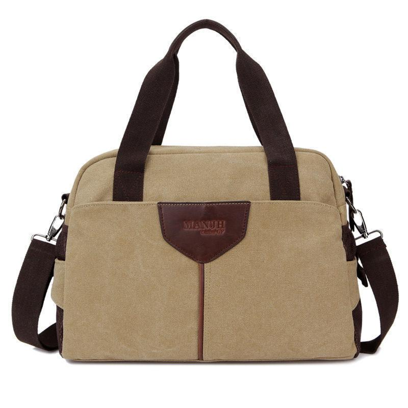 c5465b10d Brand Good Quality Men'S Canvas Shoulder Bag Men'S Bag For School / Travel Men'S  Messenger Bag Made Of Canvas 1342 Over The Shoulder Bags Hobo Handbags From  ...