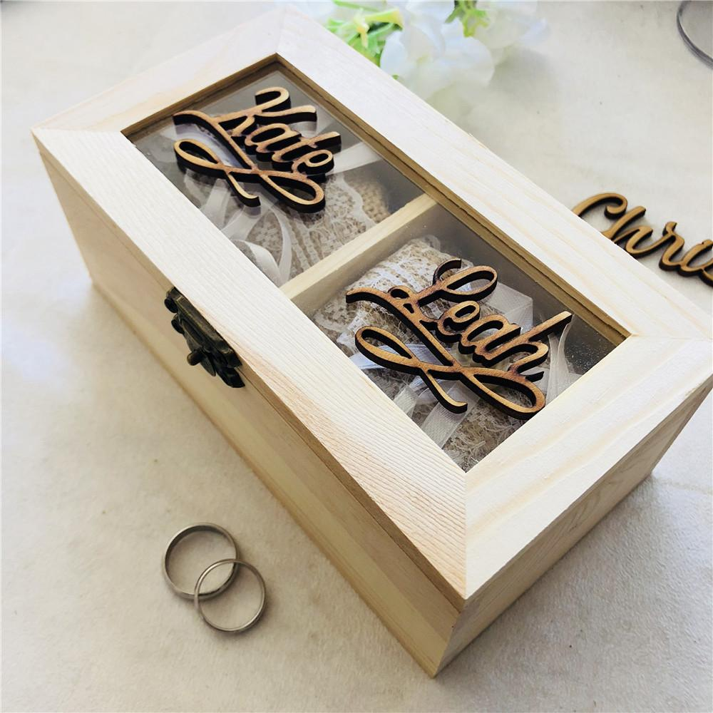 Sin Pintar Caja de madera sin tratar tamaño A4//documentos de pino natural Caja Plana