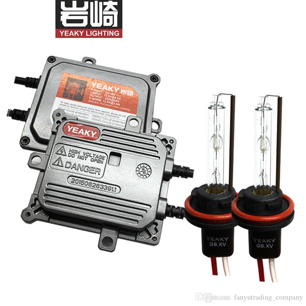2019 YEAKY MIX Set 45W 9005 9006 Hid Kit Yeaky D2S H11 H7 H1 Xenon Lampada Lighting 5500K From Fanyutrading Company 603