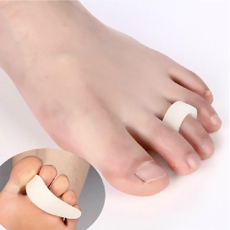 1 paar Toe Corrector Hammer Toes Separator Für Zehenpads Fußpflege Bunion Gel Schutz Entfernen Hühneraugen Füße Silikon Fingerschutz
