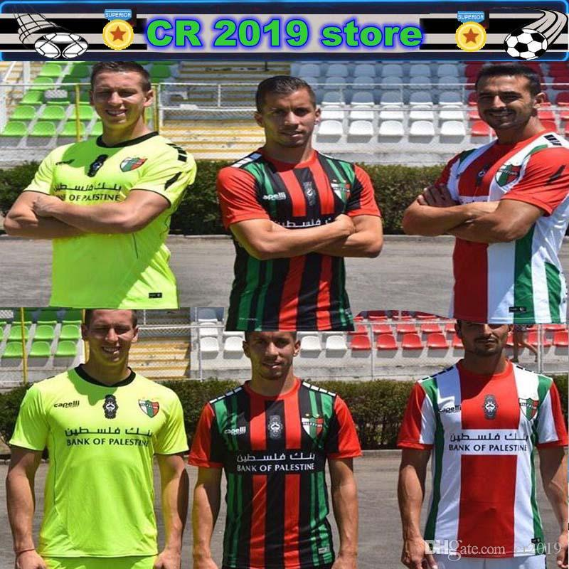 bdad724ff 2019 19 20 Palestino Goalkeeper Soccer Jersey ORRES ROSENDE 9 CAMPOS CORTES  CUTIERREZ VALLEJOS FARIAS 2019 Palestino Home Away Black Soccer Shirt From  ...