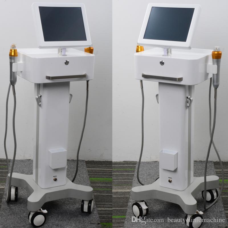 Máquina de rejuvenecimiento de la piel fraccional rf 2 en 1 Microneedle Máquina de eliminación de arrugas RF fraccional facial dispositivos para el cuidado de la piel