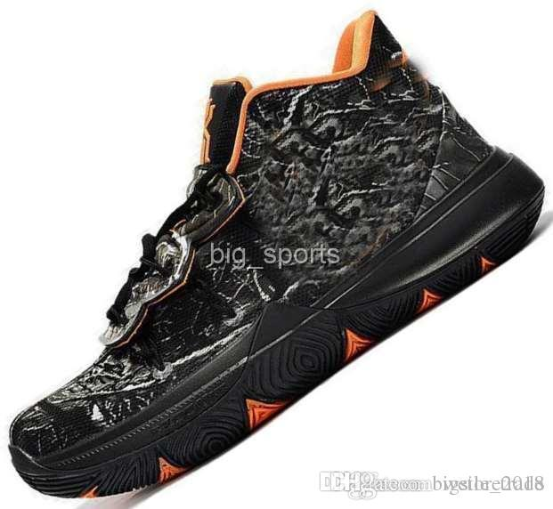 sale retailer 0428d 69aec Fashion Designer Concepts x 5 Ikhet Starry Sky Kyrie Mens Basketball Shoes  Sneakers Schuhe 5s Taco Sports Man Trainers Baskets Chausseures