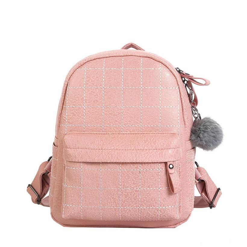764371d74be5 Mini Backpack Designer Women 2019 Stone Pattern Leather Backpacks For Teen  Girls Small Back Pack Ladies Casual Daypack Sac A Dos Cool Backpacks Travel  ...