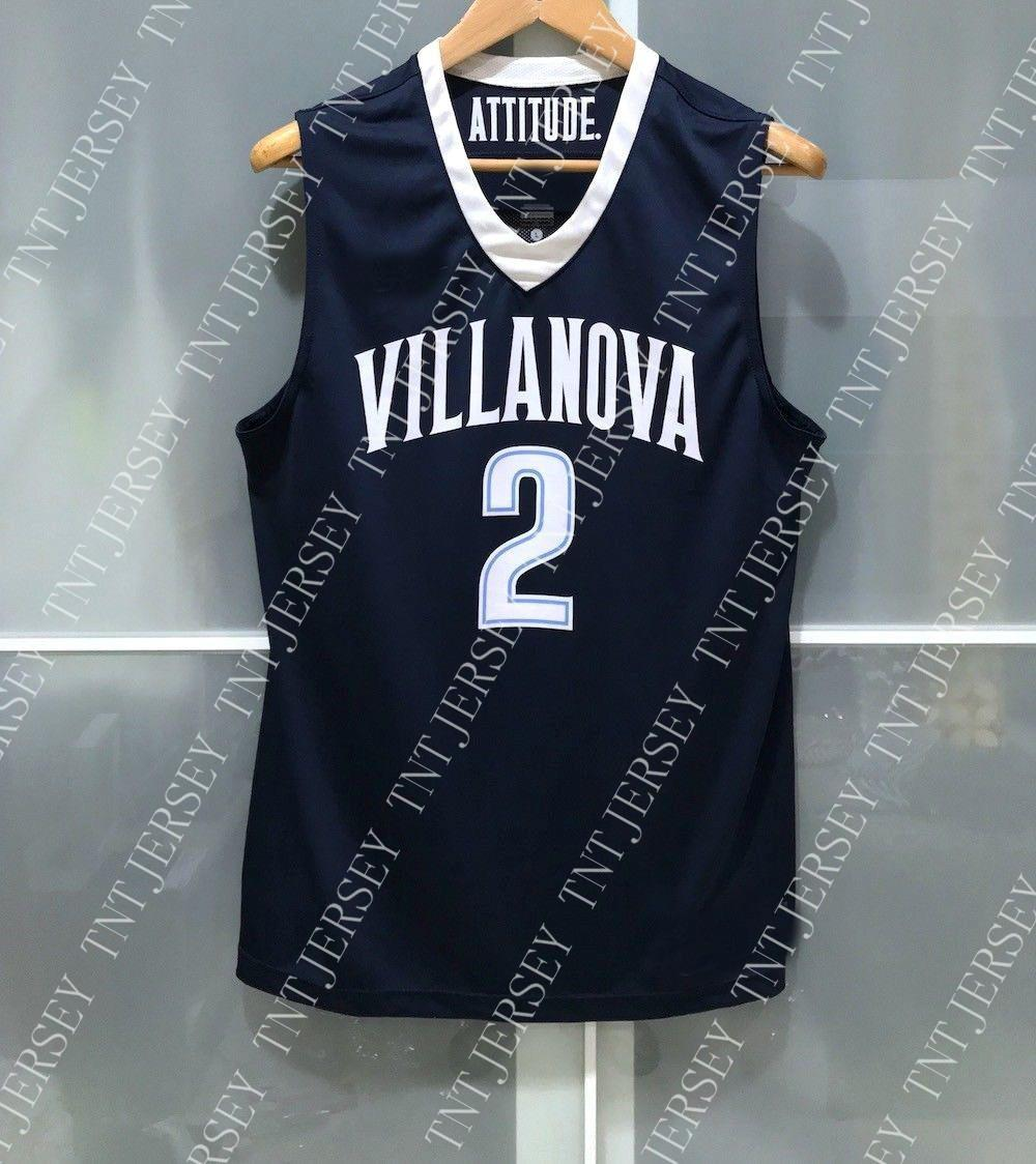 0177138b10bb 2019 Cheap Custom VILLANOVA WILDCATS  2 NCAA BASKETBALL JERSEY Stitched  Customize Any Number Name MEN WOMEN YOUTH XS 5XL From Tntjersey
