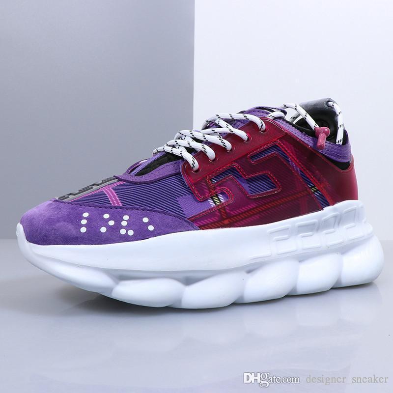 be3a3875 2019 Reacción En Cadena Hombres Mujeres Zapatos De Diseñador De Lujo Mejor  Calidad Zapatillas De Deporte De Moda Zapatillas De Deporte Zapatos  Ocasionales ...