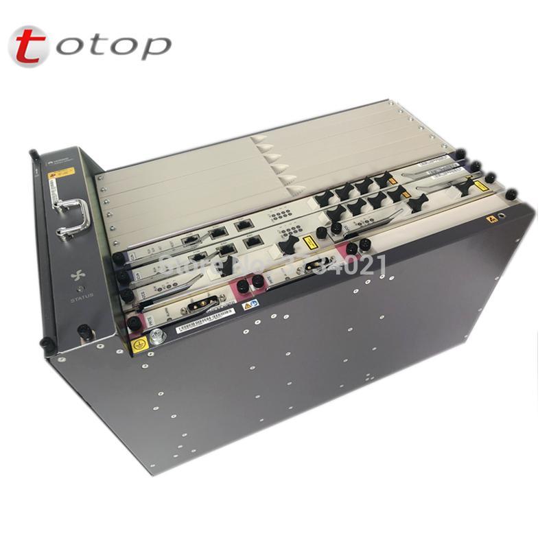 Huawei 10G GPON OLT MA5683T with 2xSCUN 2xPRTE 2x X2CS, (X2CS with SFP  module), Optical Line Terminal