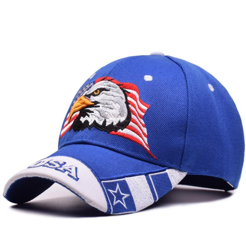 987650e33a076 New Men Eagle Baseball Cap American Flag Embroidery Snapback Dad Hat Bone  Male Summer Casual Letter US Army Tactical Hip Hop Cap Hats And Caps Skull  Caps ...