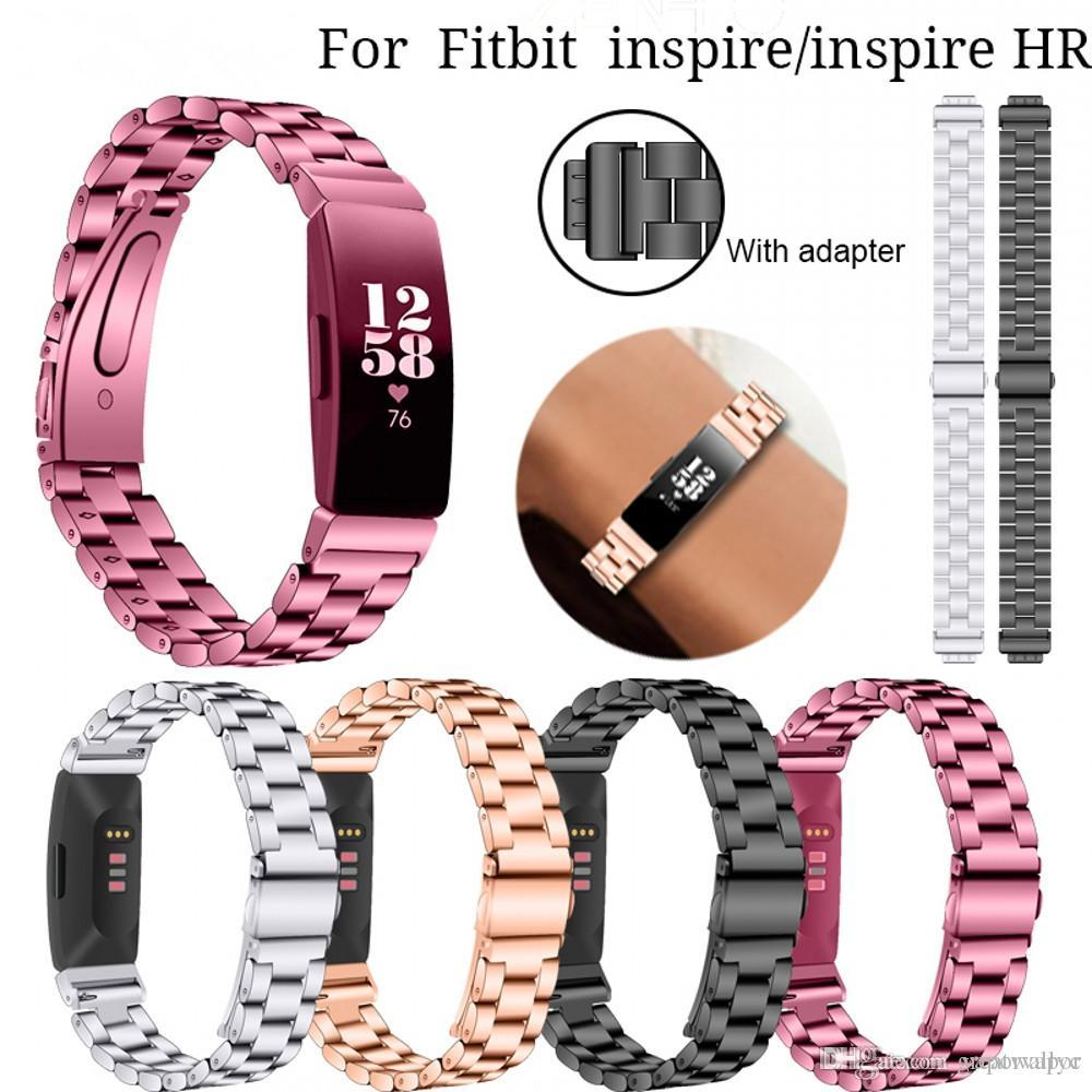 396212bfb1218 Watch Straps Stainless Steel For Fitbit Inspire/Inspire HR Wristband  Replacement For Fitbit Inspire Watches Band Bracelet Belt