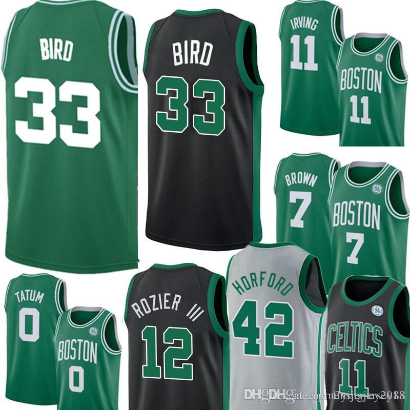 buy popular 8dfa1 8257a 33 Larry Boston Bird Celtic Jersey Mens Green Swingman Jersey - Icon  Edition Embroidery Basketball Jerseys S-XXL