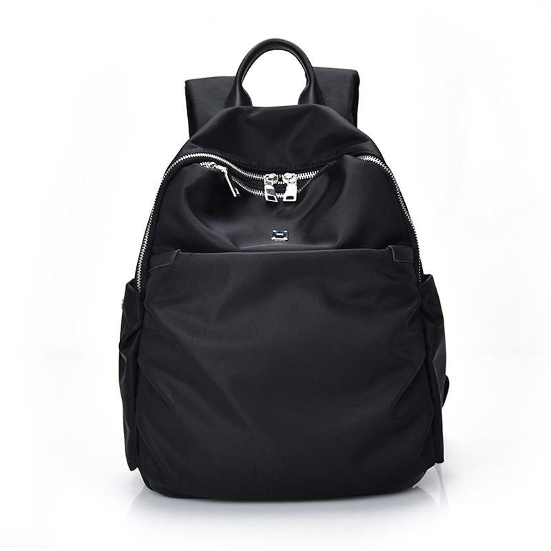 72d4895e70 Women Backpacks Waterproof Nylon Student School Bags Girl Backpacks Female  Casual Travel Shoulder Bag Ladies Mochila Feminina Mochilas Jansport School  ...