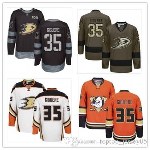 cheap for discount d6f71 26d2a can Anaheim Ducks Jerseys #35 Jean-Sebastien Giguere Jerseys  men#WOMEN#YOUTH#Men's Baseball Jersey Majestic Stitched Professional  sportswear