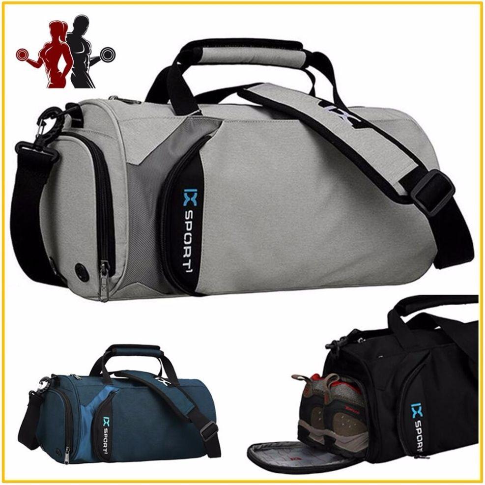 3e370716ed3b Quality Waterproof Nylon Sports Bag Fitness Bag Profession Men Women Gym  Shoulder Light Travel Luggage Crossbody Bags  214477 UK 2019 From  Hotjersey2018