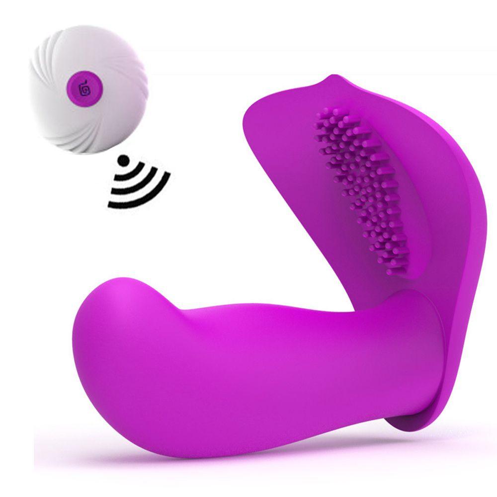 9e8d1f572 Wearable Strapon G Spot Dildo Vibrator Wireless Remote 10 Mode Vaginal Clitoris  Stimulator Vibrators Sex Masturbator For Women C18112301 Moving Vibrators  ...
