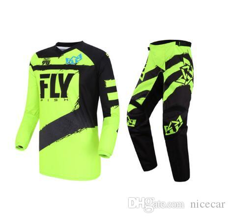New off-road suit fall-proof riding suit MX mountain bike riding Motorycele Gear Set motocross competition sports moto