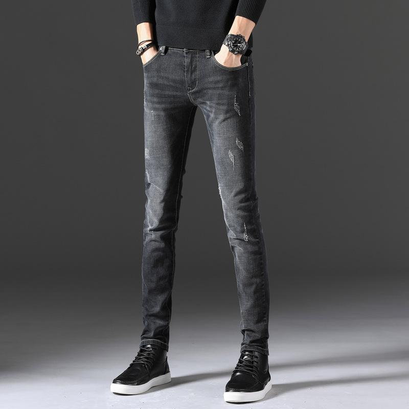 Compre Pantalones Vaqueros Para Ajustados Otoño De qRwSOU7nq