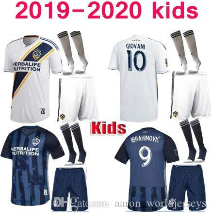 new concept 6da45 7f7b7 la galaxy youth jersey