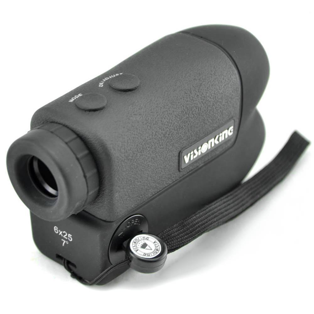 Freeshipping multi-functional Laser Rangefinder 6x25 600m Hunting Golf Monocular Telescope range finder portable Distance Measurement tester