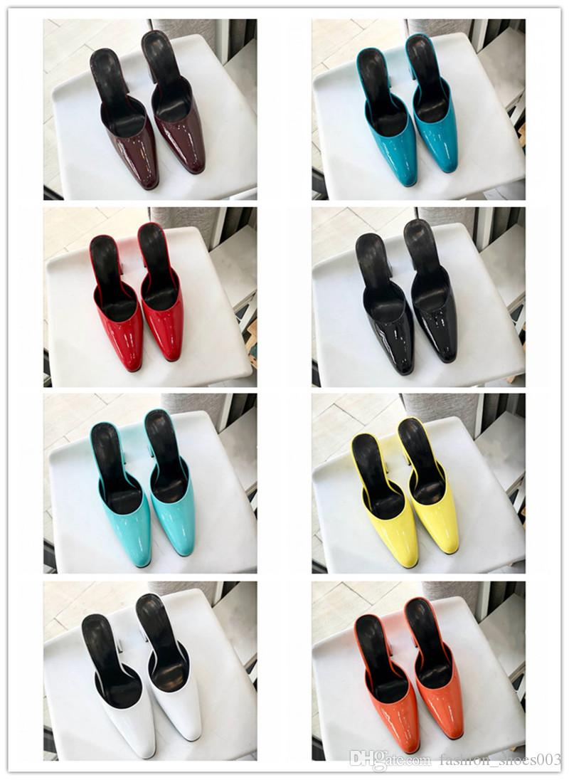 2019 designer brand woman round mules cheap luxury slippers high quality comfortable with original box top fashion moon boots chukka boots from