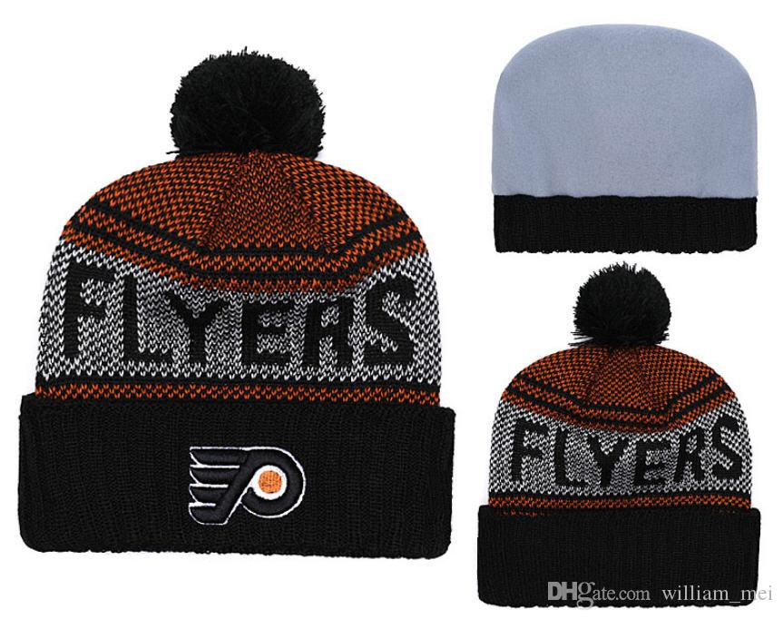 2019 Philadelphia Flyers Winter Beanies Knitted America Sports All Teams  Baseball Football Basketball Beanies Women Men Fashion Winter Hat From  William mei 23257e690377