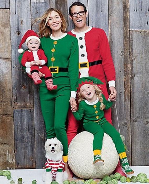 Christmas Family Pajamas Set.Christmas Family Pajamas Set Santa Adult Kids Women Sleepwear Nightwear Cosplay 2016 Long Sleeve Home Wear