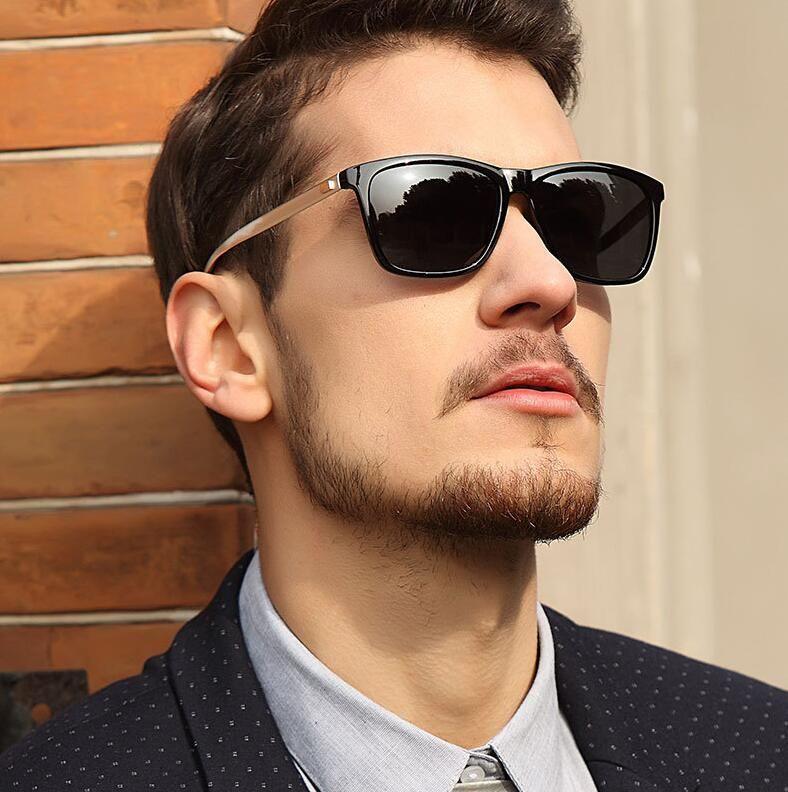 d628eb5d28 2019 Polarized Sunglasses Men Fashion Night Vision Shades Male Sun Glasses  Mirror Sunglass Classic Retro Driver Sun Glasses Women Eyewear Mirror  Sunglasses ...