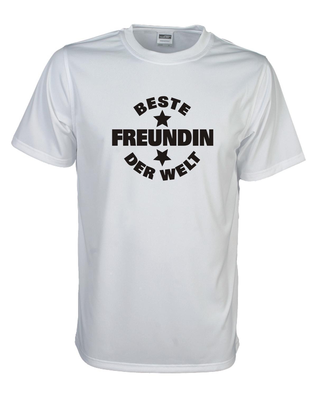 Beste Freundin Der Welt Lustiges Witziges Sprüche Funshirt Geschenk Faf020 Envío Gratis Divertido Unisex Casual Camiseta
