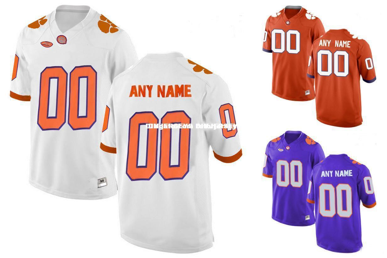 6cc2d497c 2019 Cheap 2016 Youth Clemson Tigers Customized College Football Limited  Jersey Purple White Orange From Retorjerseys