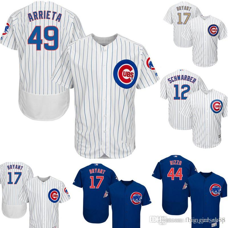 5e665527f 2019 49 Jake Chicago Arrieta Cubs Jersey Men S Majestic Home Player ...