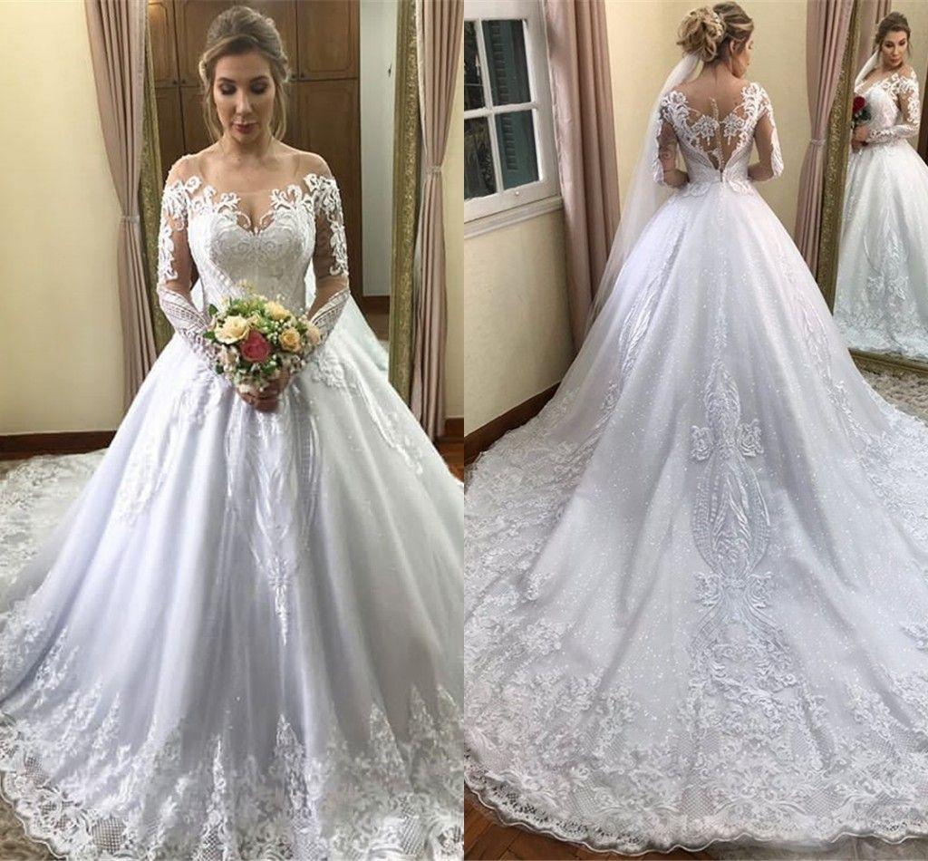 78750c2f7a8 Long Sleeve Wedding Dresses Modest