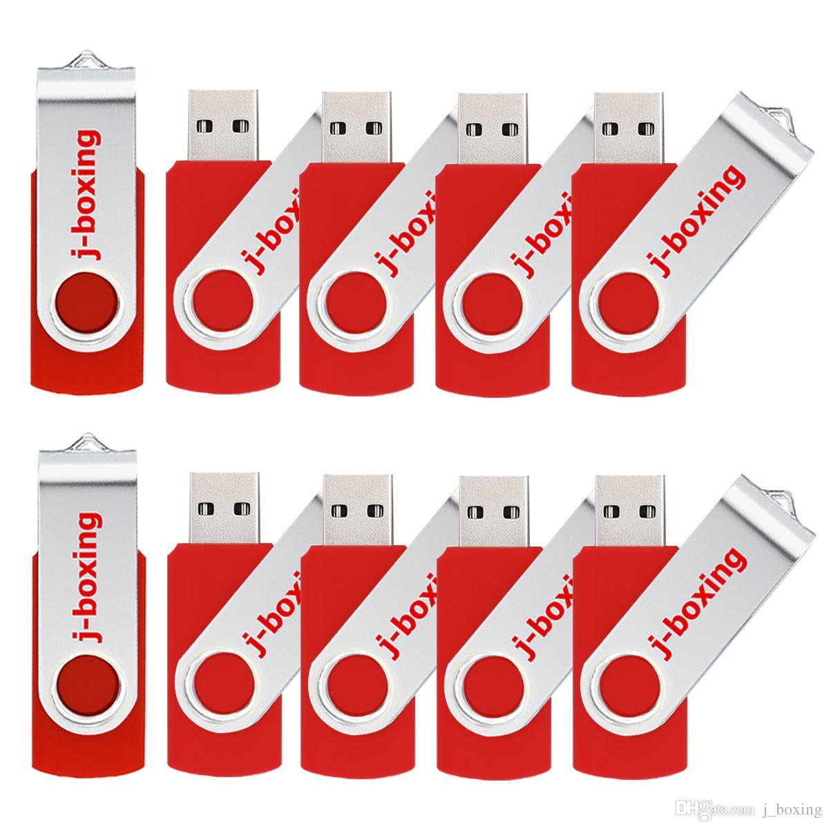 Bulk 8GB USB Flash Drive Swivel Thumb Pendrives USB 2.0 8gb Memory Sticks Thumb Storage for Computer Laptop Multi Colors
