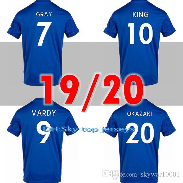 2019 2020 Leicester soccer jersey 19 20 City VARDY IHEANACHO MADDISON GRAY  MORGAN MAGUIRE home away top Thailand quality football shirts