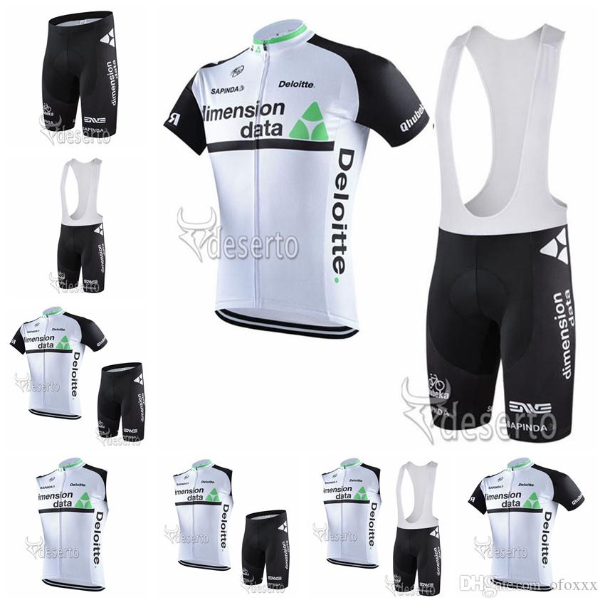 DIMENSION DATA team custom made men cycling breathable short sleeve/sleeveless bib shorts/shorts outdoor sports jersey sets S8524