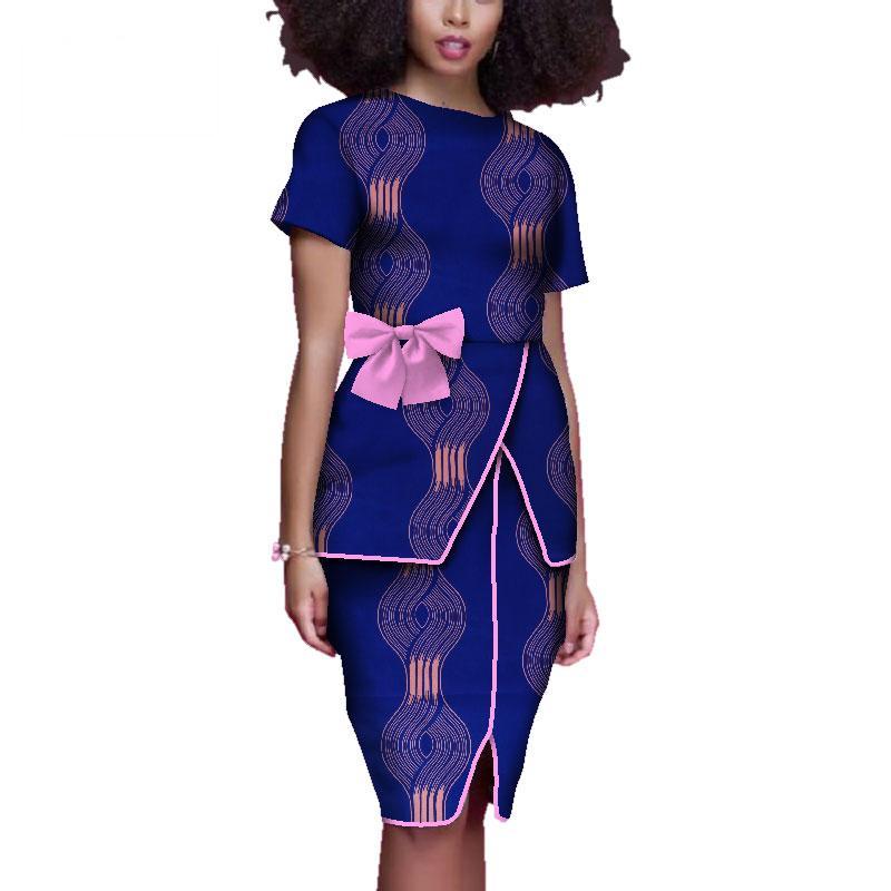 192c37b854 Vestidos de verão mulheres dashiki africano impressão dress vestidos de  cócegas na altura do joelho plus size roupas femininas 6xl wy3941