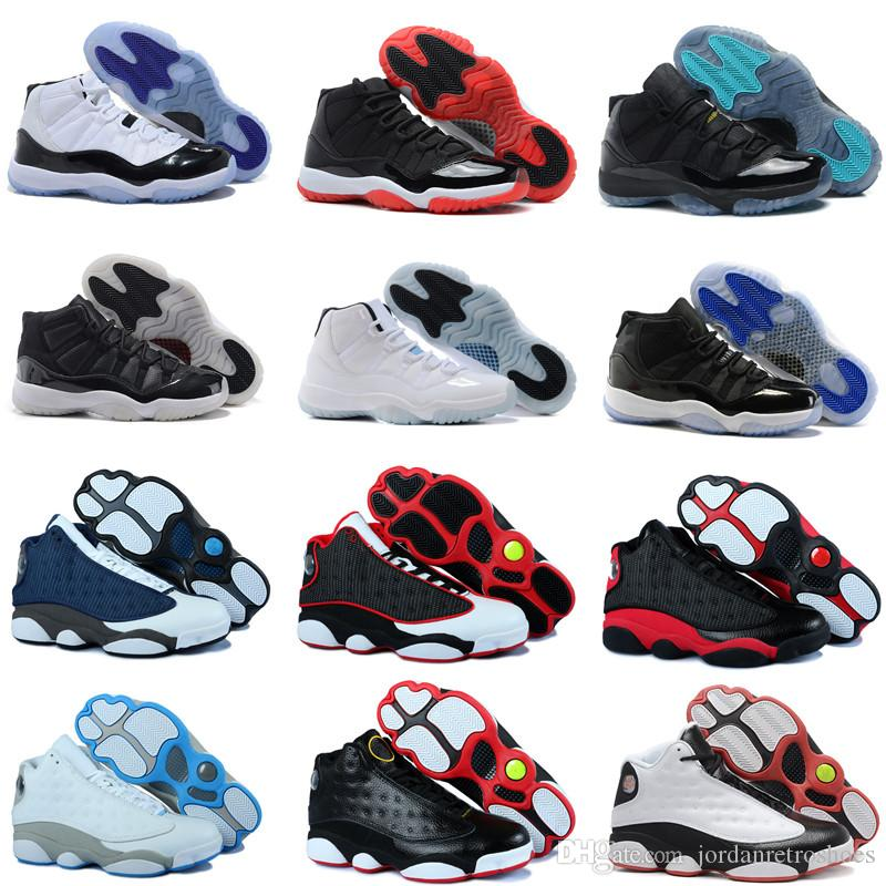 6d2b8934748 Best Quality 11s Mens Basketball Shoes 11 Concord 45 Platinum Tint Men  Women Gym Red Space Jam Sports Shoes Sneakers Size 7 13 Girls Basketball  Shoes Best ...