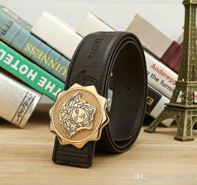 Best Material Medusa Genuine Leather Fashion Men's Belts Belts, Fashion Belts, Men's Jeans Leisure Belts Wholesale