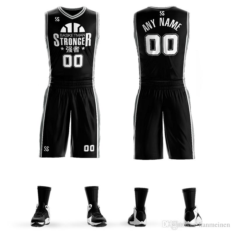 6b1052838 2019 Custom Mens Basketball Jersey Sets DIY Uniforms Kits Manu Ginobili  Boys Sports Clothing Breathable Customized College Team Basketball Jersey  From ...