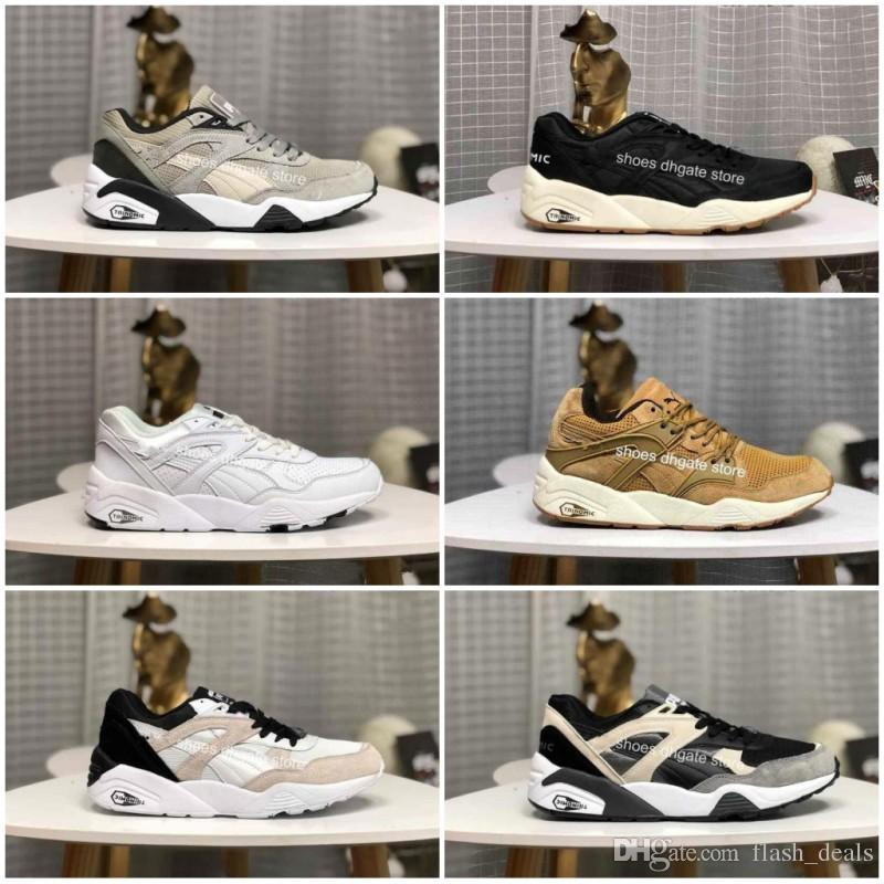 reputable site 1a97f 4b017 2019 New Creepers High Quality Trinomic BLAZE OF GLORY SOFT Shoes New Men  Women Running Basketball Trainer Casual Sneakers Size 36-44
