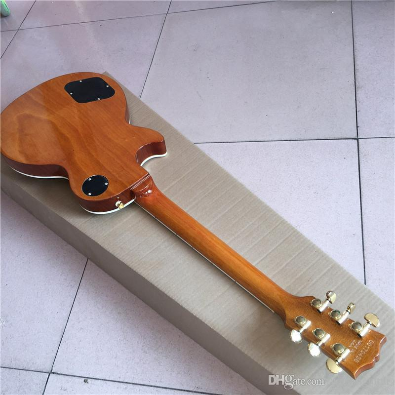 Chinese guitar custom shop guitar custom Electric Guitars ,bright,can be a of custom,big flower guitar, Like photos