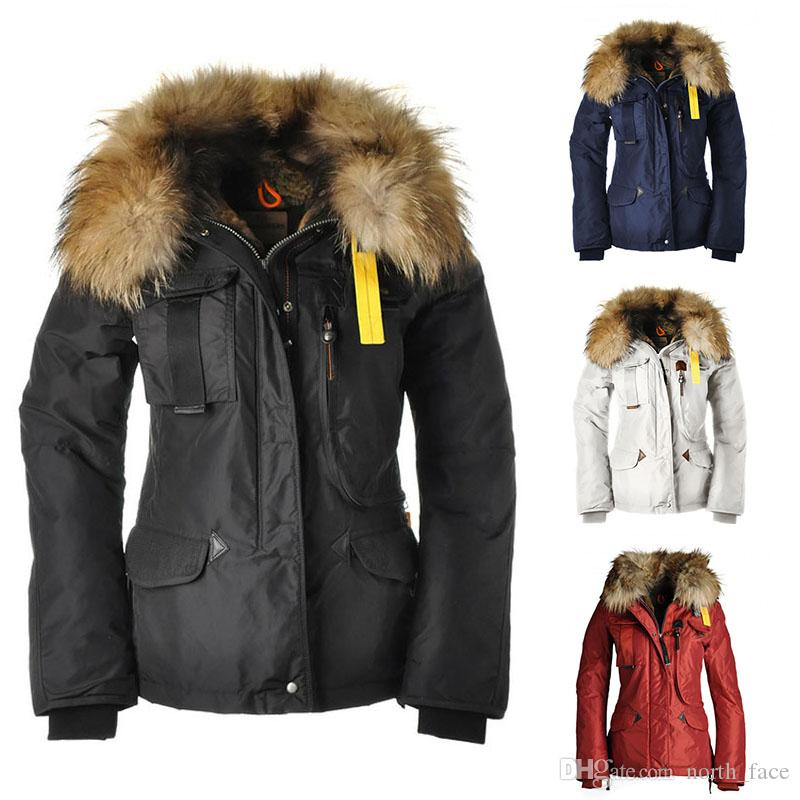 Top Women Winter Down Jacket Warm Fur Designer Jackets Women's Outerwear Womens Outdoor Down Coat Woman Fashion Jacket Parkas