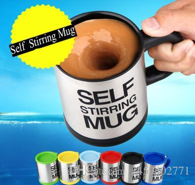 2019 135oz Automatic 400 Ml Coffee Milk Mixing Cup Stainless Steel