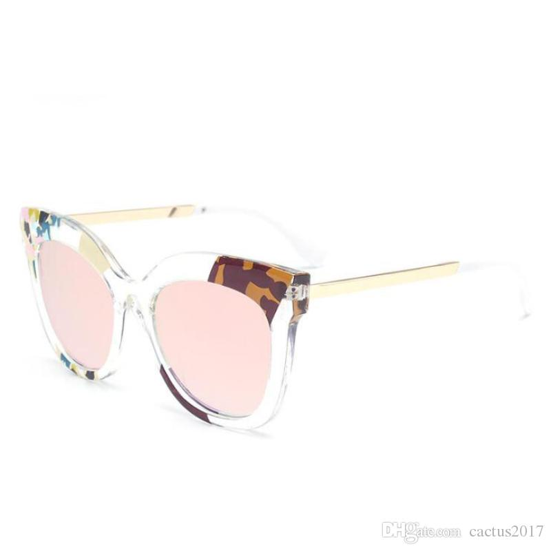 7dedf5e996f Luxury Crystal Frame Cat Eye Sunglasses Women Retro Designer Sun Glasses  For Women Unique Hipster Sun Glasses Oculos De Sol Cheap Eyeglasses Online  ...