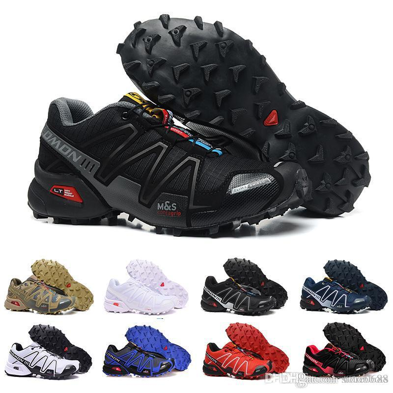 klassikko suosittu tuotemerkki Aika siistiä Salomon Speedcross 3 CS Sport Men Outdoor Shoes Breathable Zapatillas  Hombre Mujer Male Fencing Sneaker Speed Cross 3 tennis