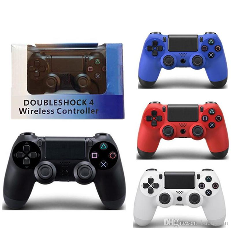 hot PS4 Wireless Game Controller for PlayStation 4 PS4 Game Controller Gamepad Joystick Joypad for Video Games With Retail Package